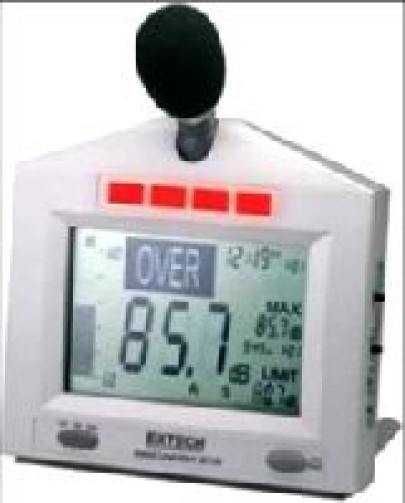 New Sound Level Monitor with Alert Sl-130
