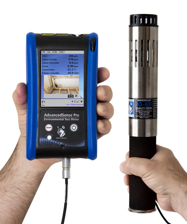 Pro Portable Air Quality Data Collection Meter Envirotech