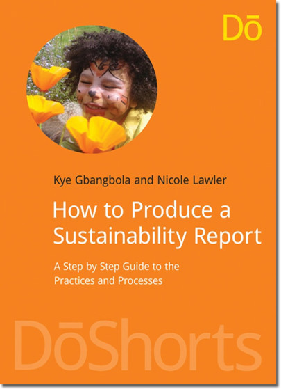 "New Book - ""How to Produce a Sustainability Report"""