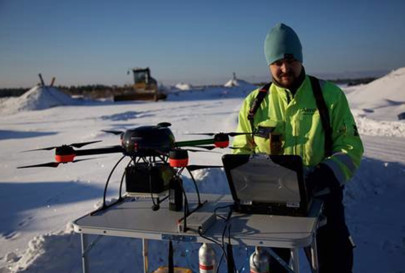 Finnish Cleantech Startup Aeromon Revolutionises Emissions Mapping Through Drone-Mounted Sensors