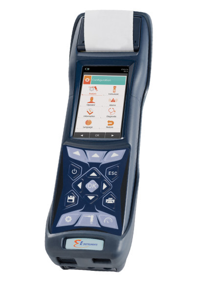 Automatic Data Logging For the NEW E1500 Portable Emissions Analyser