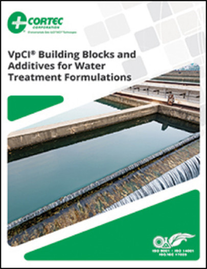 Cortec® Presents Sound, Environmentally Friendly Water Treatment Alternatives in New Additives Brochure