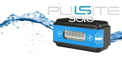 The Pulsite Solo is a Low Cost, Battery Powered Rate and Total Flow Indicator.