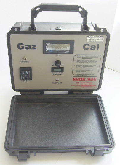 GazCal Chlorine Gas Generator for Site and Laboratory Test and Calibration