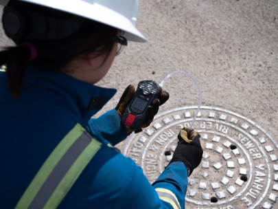 World's first cellular-connected gas detector with integrated pump changes gas monitoring for confined space