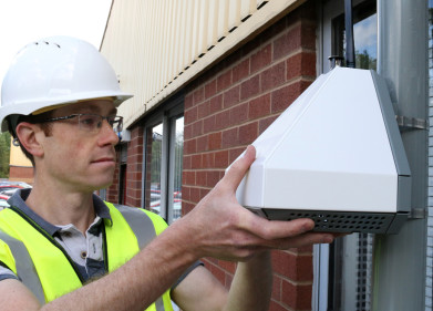 Urban observatory monitors Newcastle with new generation of sensors