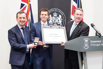 Outstanding export success recognised with UK trade award