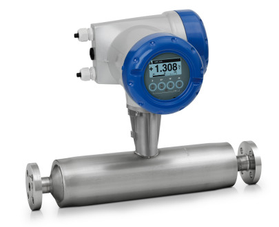 Straight tube Coriolis mass meter now made in the USA