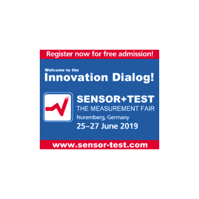 Don't miss to register for SENSOR+TEST 2019