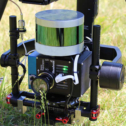 Fusing LiDAR with hyperspectral imaging