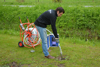 Submersible sampling pump proves indispensable when measuring water quality in the Netherlands