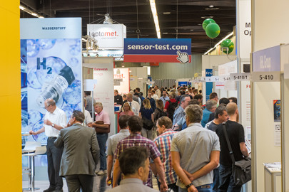 Hot technology in cool halls at Europe's leading sensor trade exhibition and conference