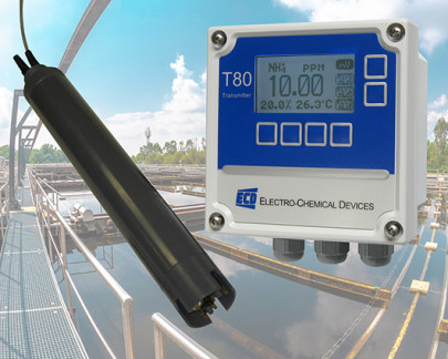 Accurate monitoring of wastewater treatment effluent and surface water storage