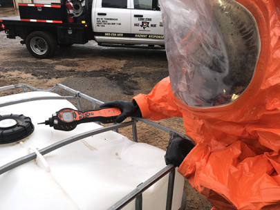 Handheld photoionisation detector helps Texas-based emergency spill response specialist ensure the safety of first responders