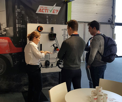 Visitors to Antwerp show get active on explosion protection