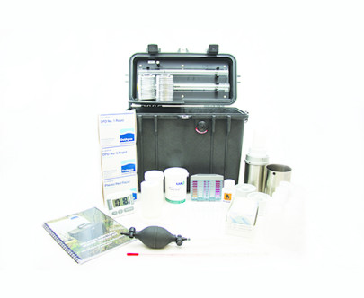 Portable monitor for reliable water safety analysis at source