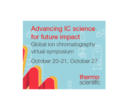 Global ion chromatography virtual symposium: Advancing IC science for future impact