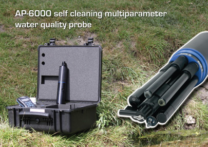 New miniaturised self-cleaning water quality probe