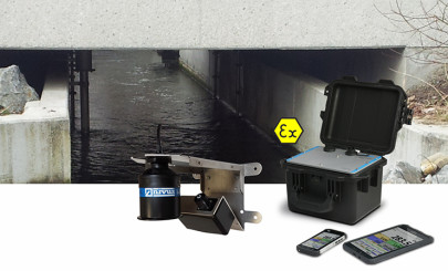 Reliable and accurate contactless flow measurement for outdoor waterways